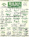 Balboa-Westwood Theater Playbill, 1928