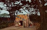 Gingerbread House in Storyland, 1960s