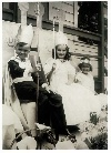 Parkside School May Day King and Queen, 1938.