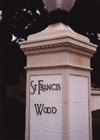 St. Francis Wood Pillar