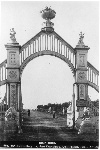 Sutro Heights. View of Main Entrance Gates