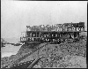 Second Cliff House. Under construction