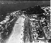 Ocean Beach. Aerial view of Playland, Cliff House and Sutro Heights